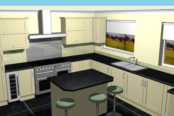 Design Work Bespoke Kitchens Yorkshire Leeds Harrogate Ilkley